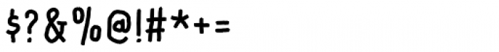 Rocket Please Regular Font OTHER CHARS
