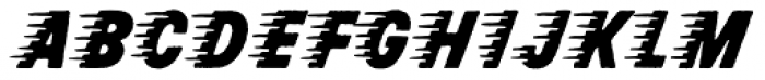 Rocketship From Infinity Font LOWERCASE