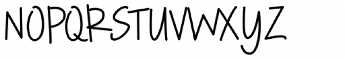 Rockford Font UPPERCASE