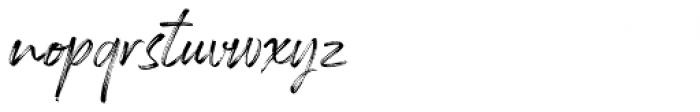 Rockness Regular Font LOWERCASE