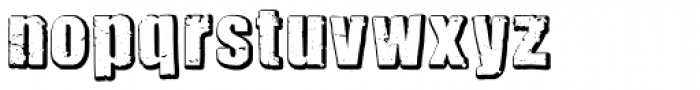 Rocksolid Font LOWERCASE