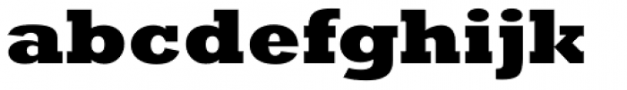 Rockwell Nova Extra Bold Font LOWERCASE