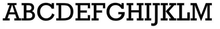 Rockwell WGL Regular Font UPPERCASE