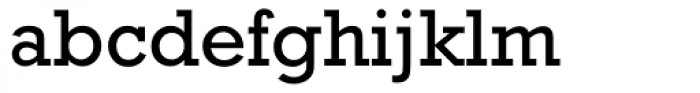 Rockwell WGL Regular Font LOWERCASE