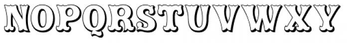 Rodeo Clown Open Font UPPERCASE