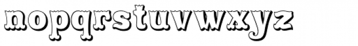 Rodeo Clown Open Font LOWERCASE