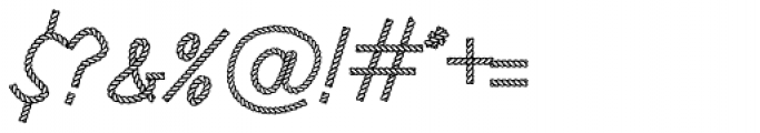 Rodeo Rope Headline Font OTHER CHARS