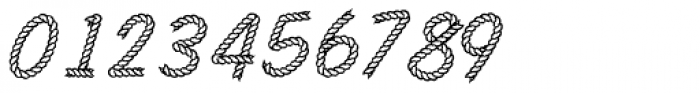 Rodeo Rope Superchunk Font OTHER CHARS