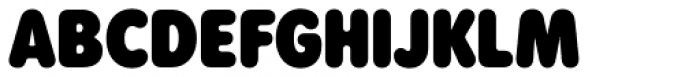 Rodger Black Font UPPERCASE