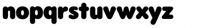 Rodger Black Font LOWERCASE