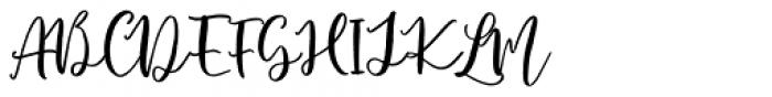Roelle Regular Font UPPERCASE