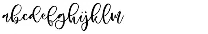 Roelle Regular Font LOWERCASE
