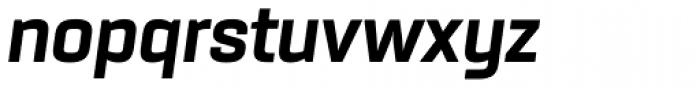 Rogan Extra Bold Italic Font LOWERCASE