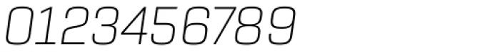 Rogan Extra Light Italic Font OTHER CHARS