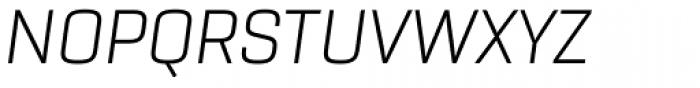 Rogan Light Italic Font UPPERCASE