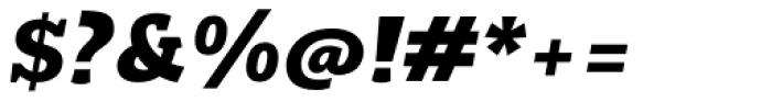 Rogliano Black Italic Font OTHER CHARS