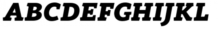 Rogliano Black Italic Font UPPERCASE