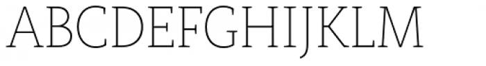 Rogliano Thin Font UPPERCASE