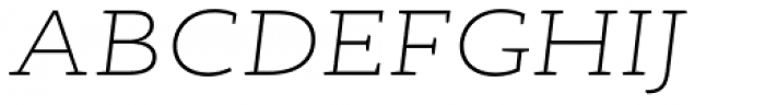 RoglianoPro Expanded Extra Light Italic Font UPPERCASE