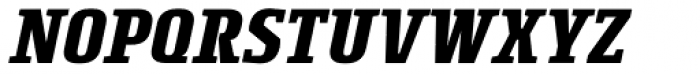 Rogue Serif Bold Italic Font UPPERCASE