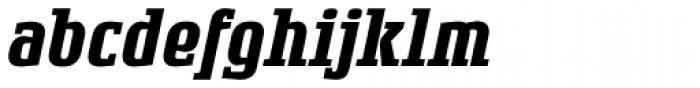 Rogue Serif Bold Italic Font LOWERCASE