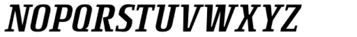 Rogue Serif Light Italic Font UPPERCASE
