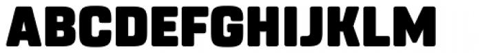 Rohn Rounded Black Font UPPERCASE