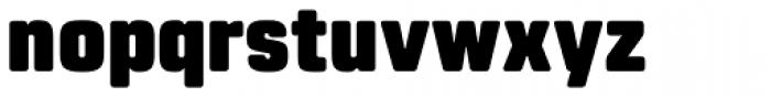 Rohn Rounded Black Font LOWERCASE