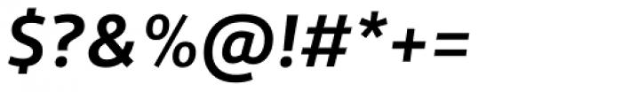 Roihu Bold Italic Font OTHER CHARS