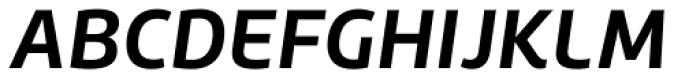 Roihu Bold Italic Font UPPERCASE