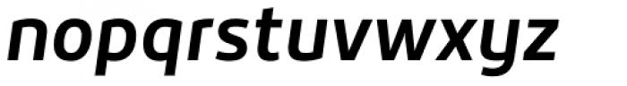 Roihu Bold Italic Font LOWERCASE