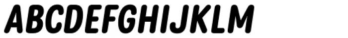 Rolade Italic Bold Font UPPERCASE