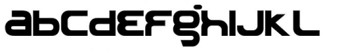 Roland TB303 Font LOWERCASE