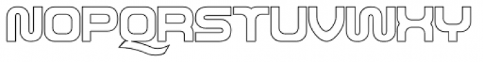 Roland TR606 Font UPPERCASE
