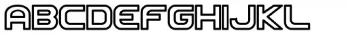 Roland TR707 Font UPPERCASE