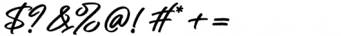 Rollanda Regular Font OTHER CHARS