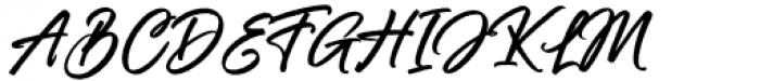 Rollanda Regular Font UPPERCASE