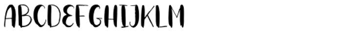 Roller Coaster Regular Font UPPERCASE