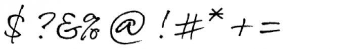 Rollerscript Rough Font OTHER CHARS