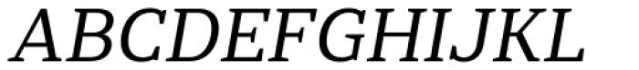 Rolleston Text Italic Font UPPERCASE