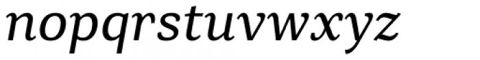 Rolleston Text Italic Font LOWERCASE