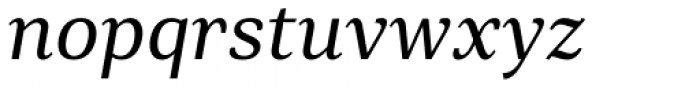 Rolleston Title Italic Font LOWERCASE