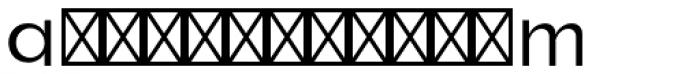 Roloi Fill Font UPPERCASE
