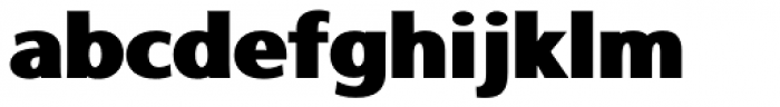 Rolphie 14 Broad Font LOWERCASE