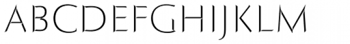 Roma Fill Font LOWERCASE