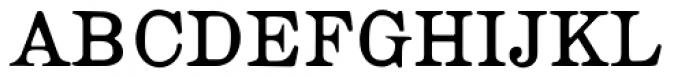 Roman Ionic Font UPPERCASE