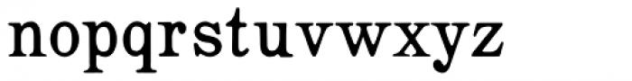 Roman Ionic Font LOWERCASE