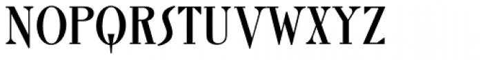Roman Solid Alternate Font UPPERCASE