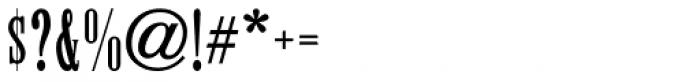 Roman Wood Type JNL Font OTHER CHARS