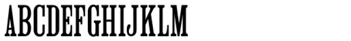 Roman Wood Type JNL Font UPPERCASE